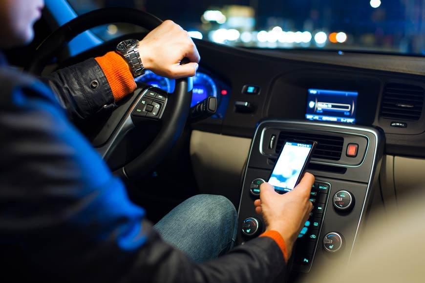 distracciones al manejar